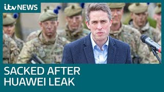 Defence Secretary Gavin Williamson sacked |  ITV News