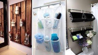 10 DIY Storage Organizers for Small Bathroom