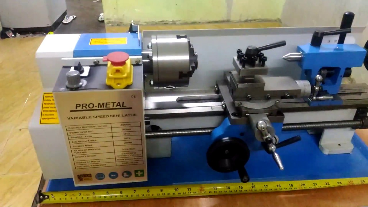 Hobby Mini Lathe For Sale with or without digital counter