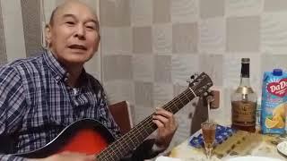 Казах поёт о Калмыкии на русском языке