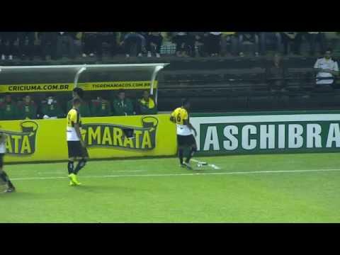 Criciúma 1 x 0 Sampaio Corrêa Melhores Momentos Campeonato Brasileiro Série B 23/09/2016