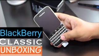 blackBerry Classic Unboxing & first impressions
