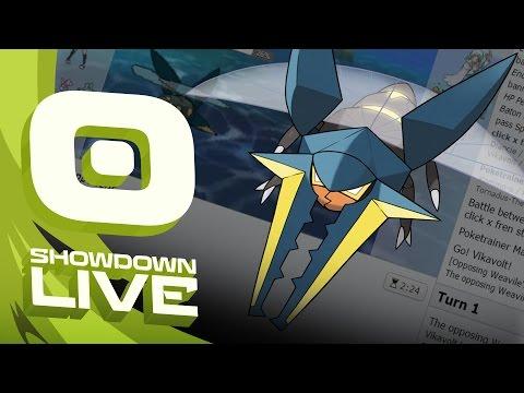 Pokemon Sun and Moon! Showdown Live: Enter Vikavolt - Vikavolt Showcase!