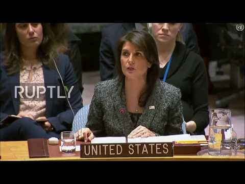 UN: Russia tried 'every possible way to avoid' resolution - Nikki Hailey