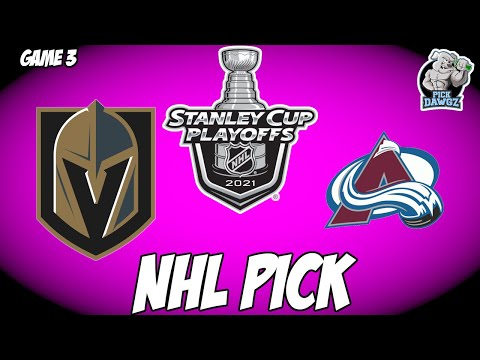 Vegas Golden Knights vs Colorado Avalanche 6/4/21 Free NHL Pick and Prediction NHL Betting Tips