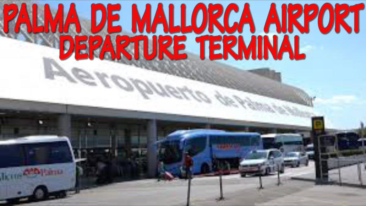 palma de mallorca airport departure terminal 4k youtube. Black Bedroom Furniture Sets. Home Design Ideas