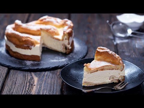 Eclair Cake - Karpatka - Polish Carpathian Mountain Cream Cake