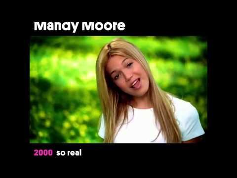 Mandy Moore - Music Video Evolution | Billboard 💛