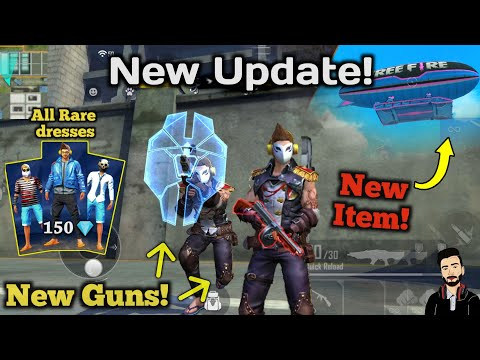 Free  Fire New Update 8th April Full Details In Hindi By Death Raider Gaming
