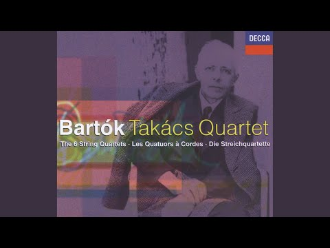 Bartók: String Quartet No.1, BB 52, Op.7 (Sz.40) - 1. Lento