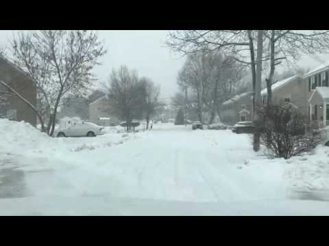 Snow in South Portland Maine December 2016