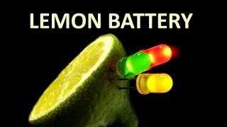 Create A  Lemon Battery