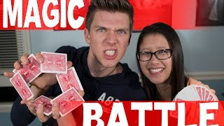 Battle of the MAGICIANS w/1 LUCKY FAN COLLAB WINNER! Snapchat: CollinsKey SUBSCRIBE FOR MORE VIDEOS: http://bit.ly/1k8z6Ru CLICK TO SHARE: ...