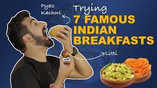 Trying 7 Famous Indian Breakfasts | Ft. Misal Pav & Roshogolla | The Urban Guide