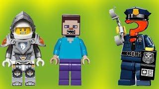 Бродячий полицейский. Лего Lego мультики. Бэтмен и Робин, Майнкрафт, Нексо Найтс. Новые мультфильмы.