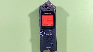 видео ОБЗОР Tascam DR-22WL: профессиональный рекордер диктофон