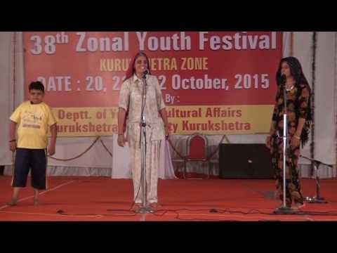 Govt College Kaithal Haryanvi SKIT at Youth Festival
