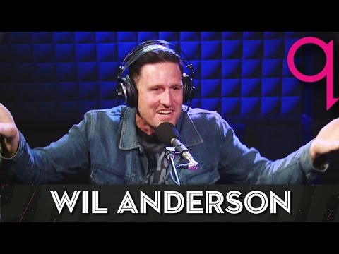 Australian Comic Wil Anderson is going global in studio q