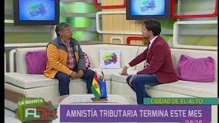 Programa de amnistía tributaria de El Alto culmina este mes