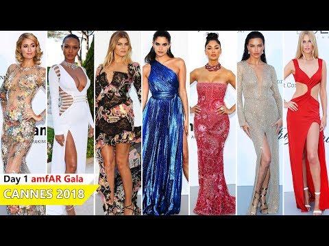 Cannes Film Festival 2018 [ amfAR Gala ] Red Carpet   Full Video   Celebrity Dresses
