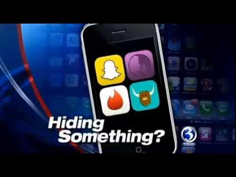 Hiding Apps WFSB interview