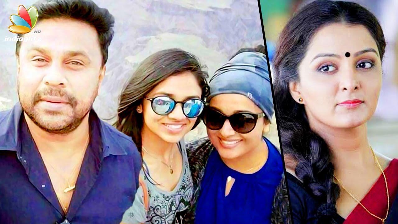 ദിലീപും കുടുംബവും അടിച്ചുപൊളിക്കുന്നു | Dillepan, Kavya and Meenakshi on family vacation