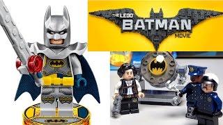 ЛЕГО ФИЛЬМ: БЭТМЕН ПОЛИЦИЯ смотреть минифигурки и Лего Бэтмен Рыцарь эксклюзив Обзор