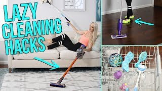 12 Cleaning Hacks for Lazy People!