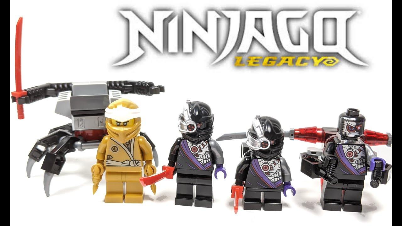NEW! LEGO Ninjago 40374 Golden Zane Pack! - YouTube