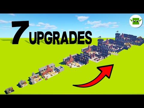 7 Upgrades In Minecraft | Medieval Castle Kitchen