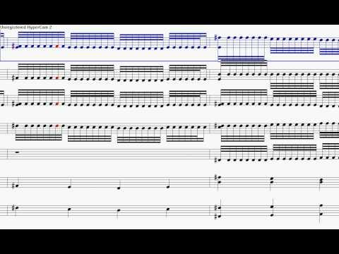 Night shift music sheet