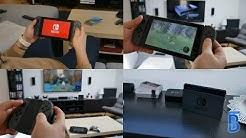Nintendo Switch Einrichten, mit TV Verbinden & zweiter Eindruck [4K]