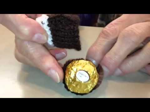 Ferrero rocher knitted cosy - YouTube 0fb598b8527