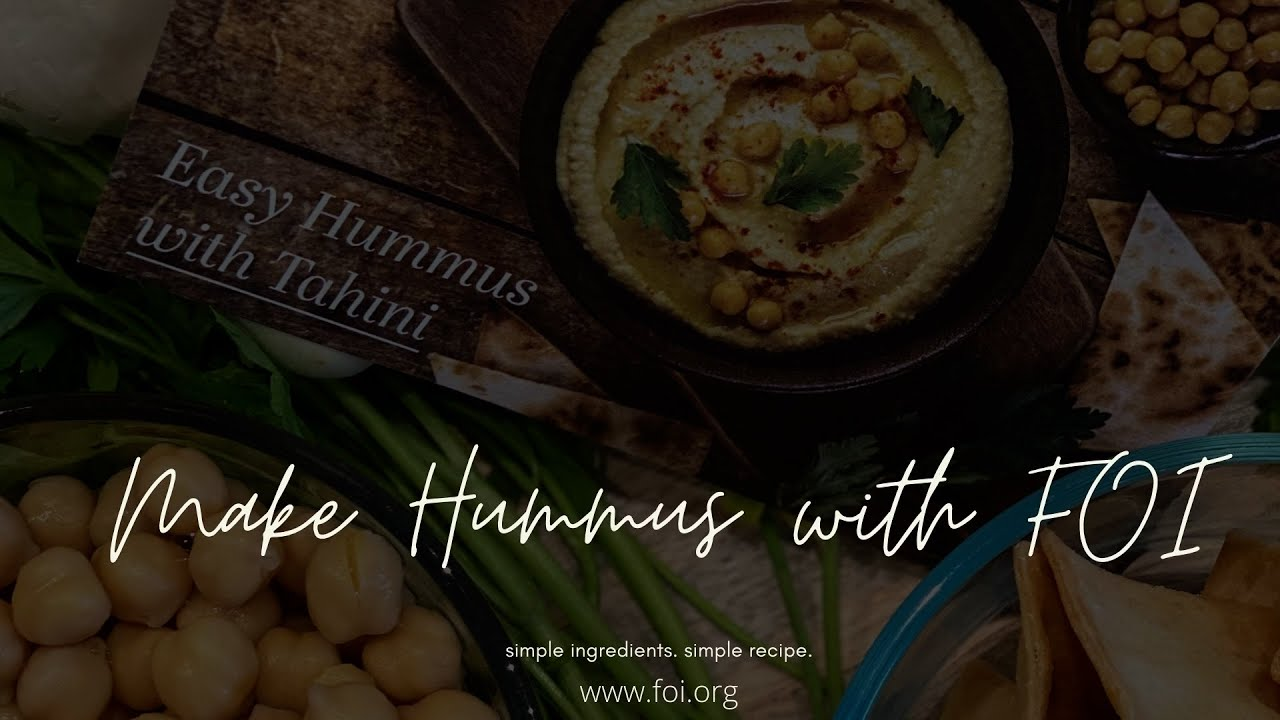 Resepi Hummus Mudah