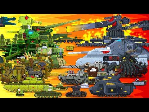 Длинный мультфильм про танки