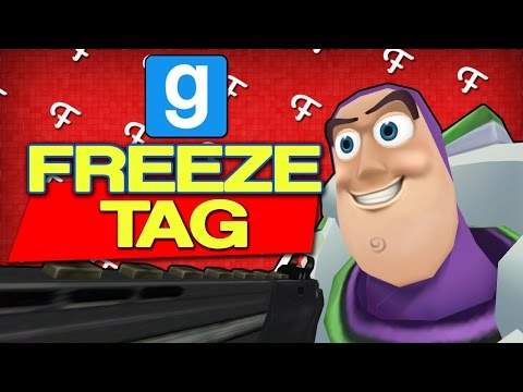 Gmod: Toy Story Edition! (Garrys Mod Freeze Tag - Comedy Gaming)