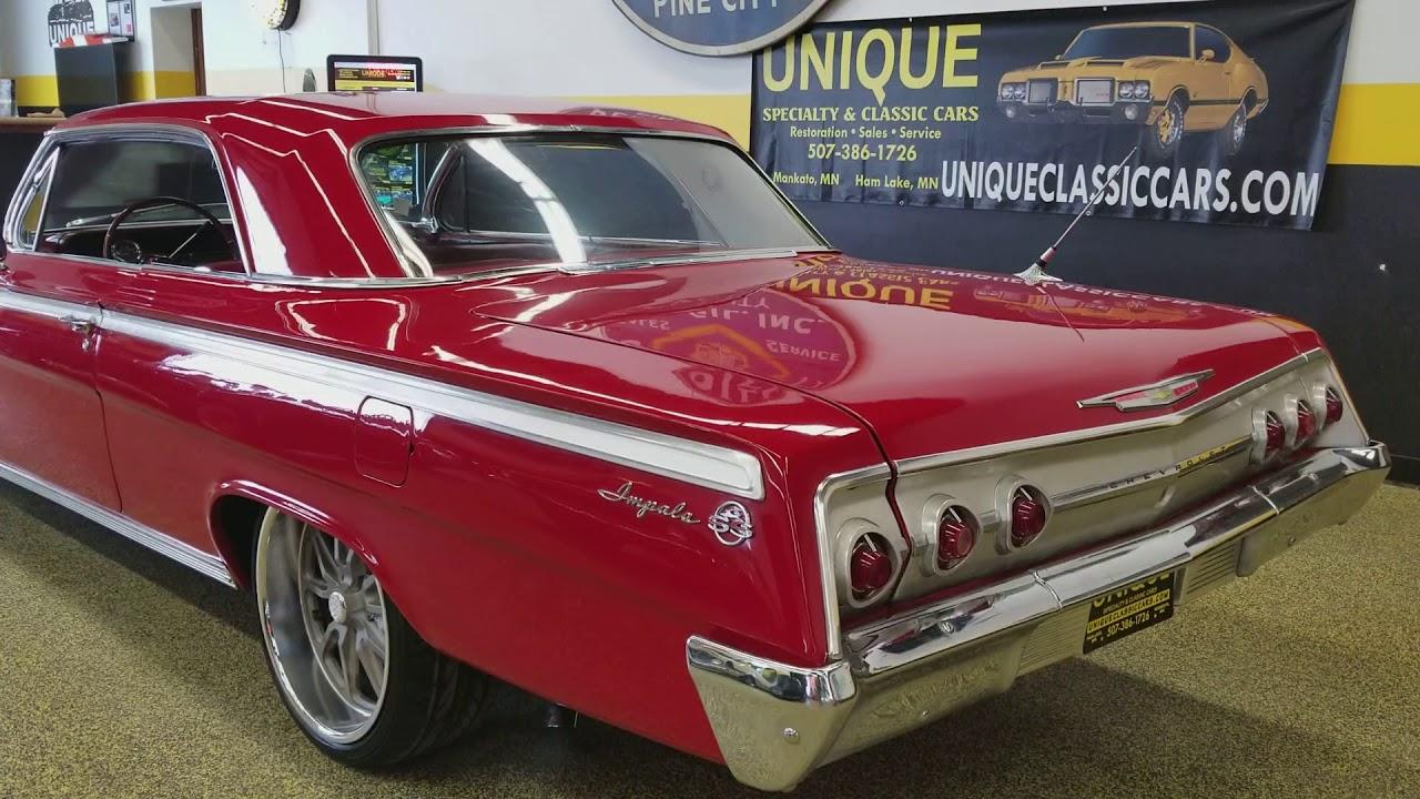 1962 Chevrolet Impala 2 door hardtop for sale - YouTube