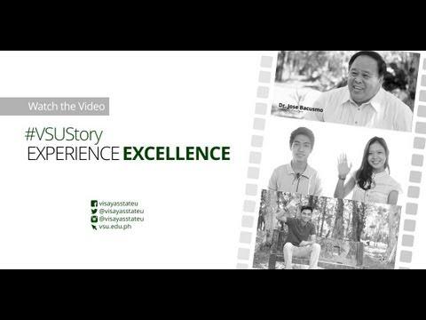 VSU Story 2013 - Experience Excellence