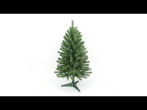 4ft Eco-Friendly Oncor Christmas Pine Tree Assembly (SKU: 12240)