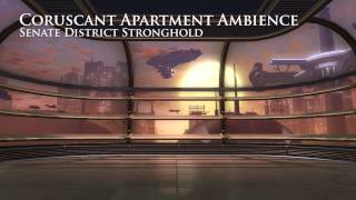 Coruscant Skyrise Apartment - Star Wars Background Ambience