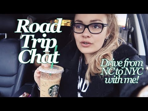 Road Trip Chat   Drive From NC To NYC With Me On The I-95!