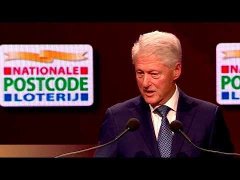 Goed Geld Gala 2017 | Speech Bill Clinton | Nationale Postcode Loterij