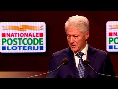 Goed Geld Gala 2017 | Speech Bill Clinton | Nationale Postcode Loterij
