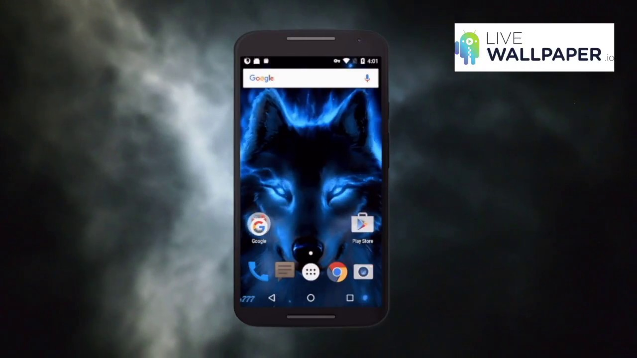 Wolf Live Wallpaper Youtube