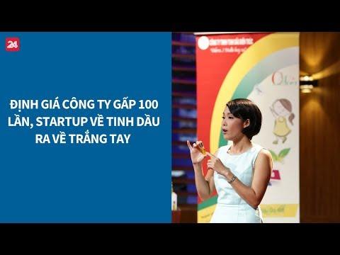 Shark Tank VN tập 13: Định giá công ty gấp 100 lần, startup trắng tay ra về | VTV24