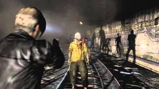 Resident Evil 6 - Leon Gameplay - Underground