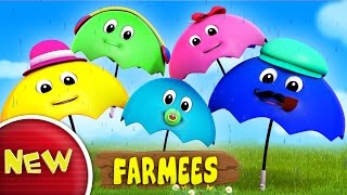 Umbrella Finger Family | Rain Rain Go Away | Nursery Rhymes | Baby Songs by Farmees