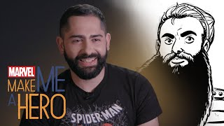 Grow Your Beard on Command | Marvel Make Me a Hero