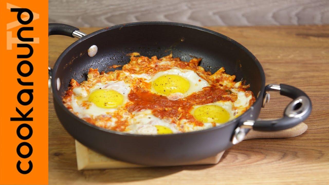 Uova al purgatorio / Ricette facili e veloci - YouTube