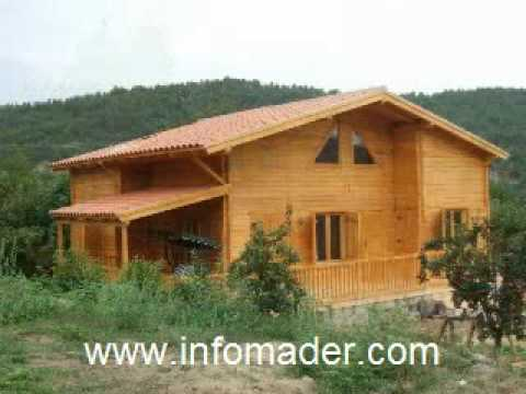 Casas de madera modelo madrid 133 m2 for Casas de madera madrid